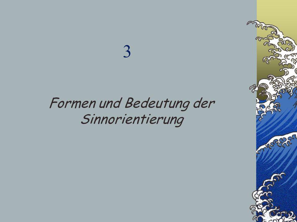 3 Formen und Bedeutung der Sinnorientierung