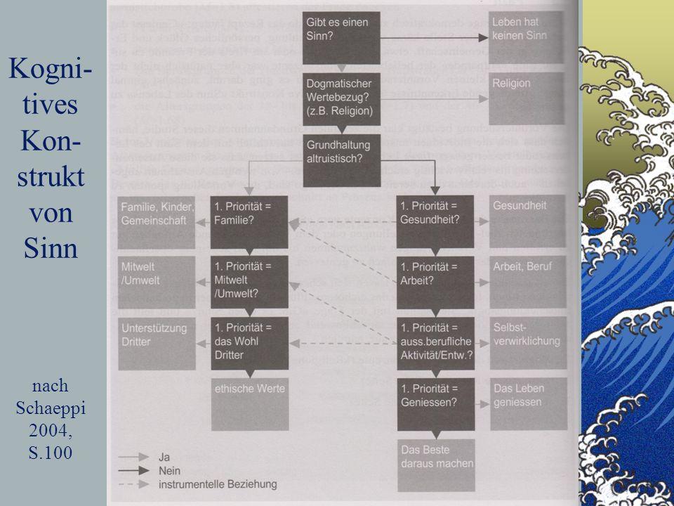17 Kogni- tives Kon- strukt von Sinn nach Schaeppi 2004, S.100