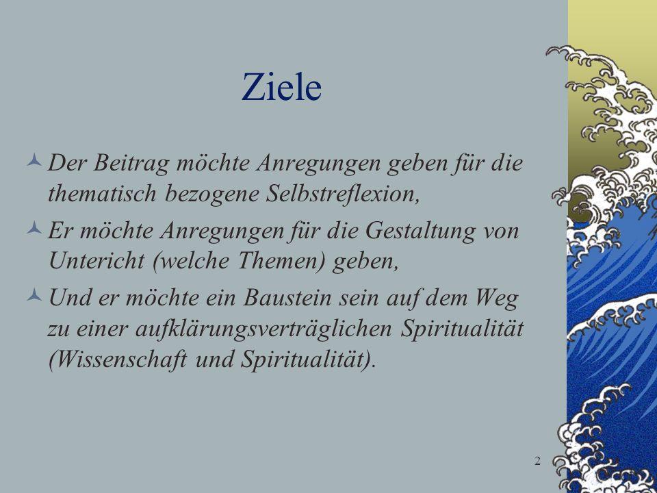 23 Spiritualität korreliert u.a.