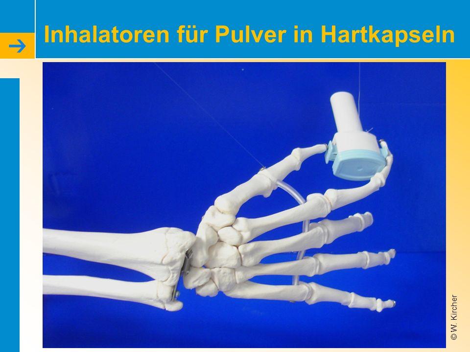 © W. Kircher Inhalatoren für Pulver in Hartkapseln