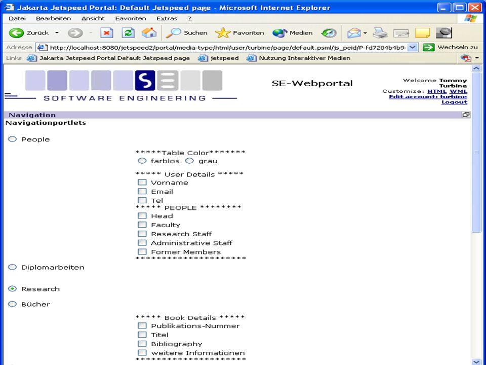 Juni 2006 Wissensportale 46 Dienste und Funktionalitäten