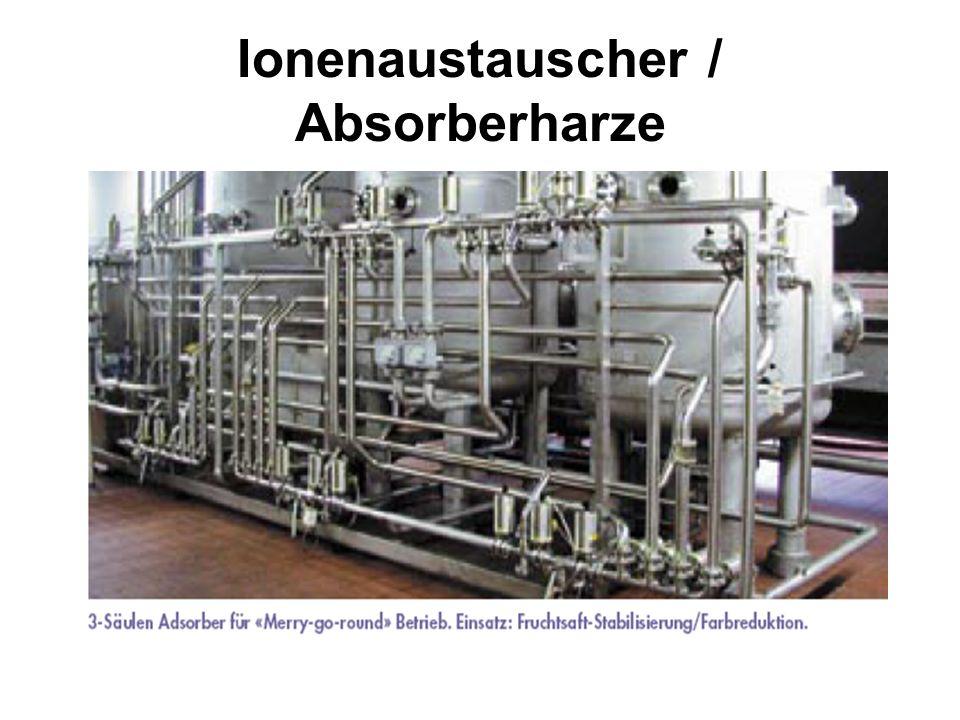Ionenaustauscher / Absorberharze
