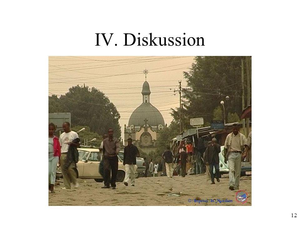 12 IV. Diskussion