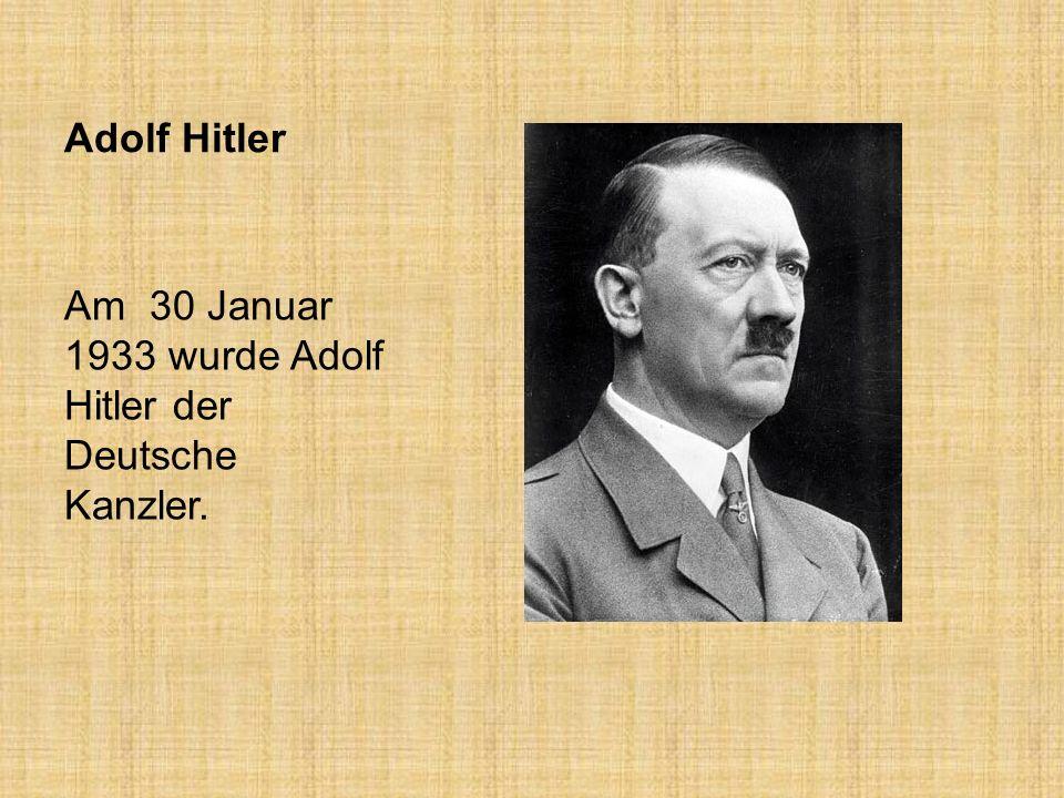 Das dritte Reich war das Reich des Nationalsozialisten zwischen den Jahren 1933 und1945.