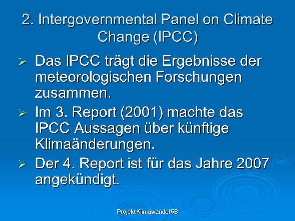 Projekt Klimawandel 5B 2.1.