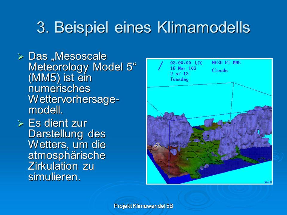 Projekt Klimawandel 5B 3.1.