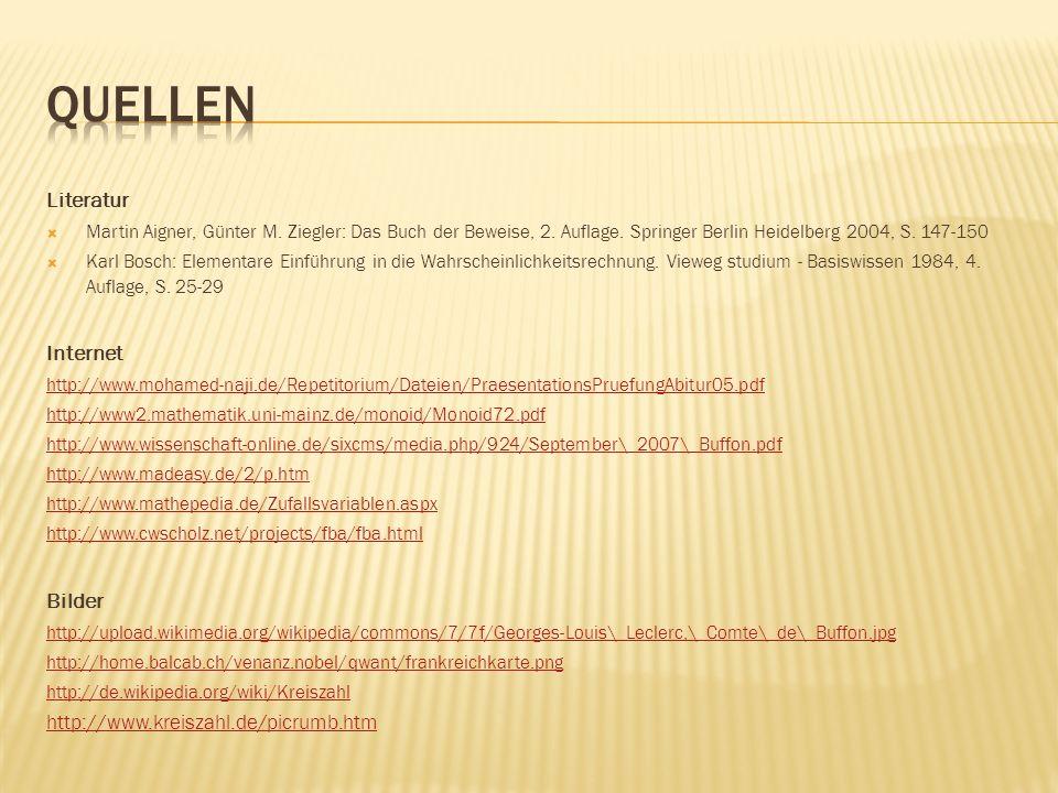 Literatur Martin Aigner, Günter M. Ziegler: Das Buch der Beweise, 2. Auflage. Springer Berlin Heidelberg 2004, S. 147-150 Karl Bosch: Elementare Einfü