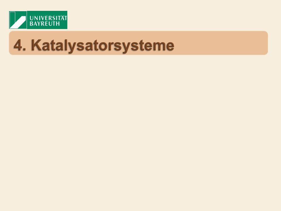 KatalysatorZeit [h]Ausbeute [%] RhH(PPh 3 ) 4 497 IrCl(PPh 3 ) 3 587 RhCl(PPh 3 ) 3 892 RuH 2 (PPh 3 ) 4 4815 R.