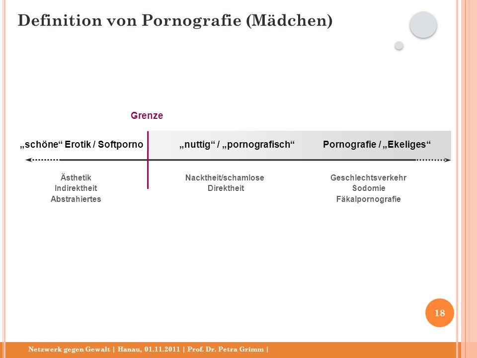 Netzwerk gegen Gewalt | Hanau, 01.11.2011 | Prof. Dr. Petra Grimm | schöne Erotik / Softpornonuttig / pornografischPornografie / Ekeliges Ästhetik Ind
