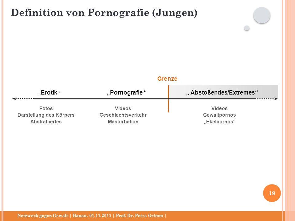 Netzwerk gegen Gewalt | Hanau, 01.11.2011 | Prof. Dr. Petra Grimm | Erotik Pornografie Fotos Darstellung des Körpers Abstrahiertes Videos Geschlechtsv