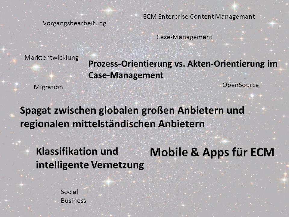 Von ECM zu Social BusinessPanel-Diskussion DMS EXPO 2011Moderation Dr. Ulrich Kampffmeyer 2 Social Business OpenSource Migration Case-Management Vorga