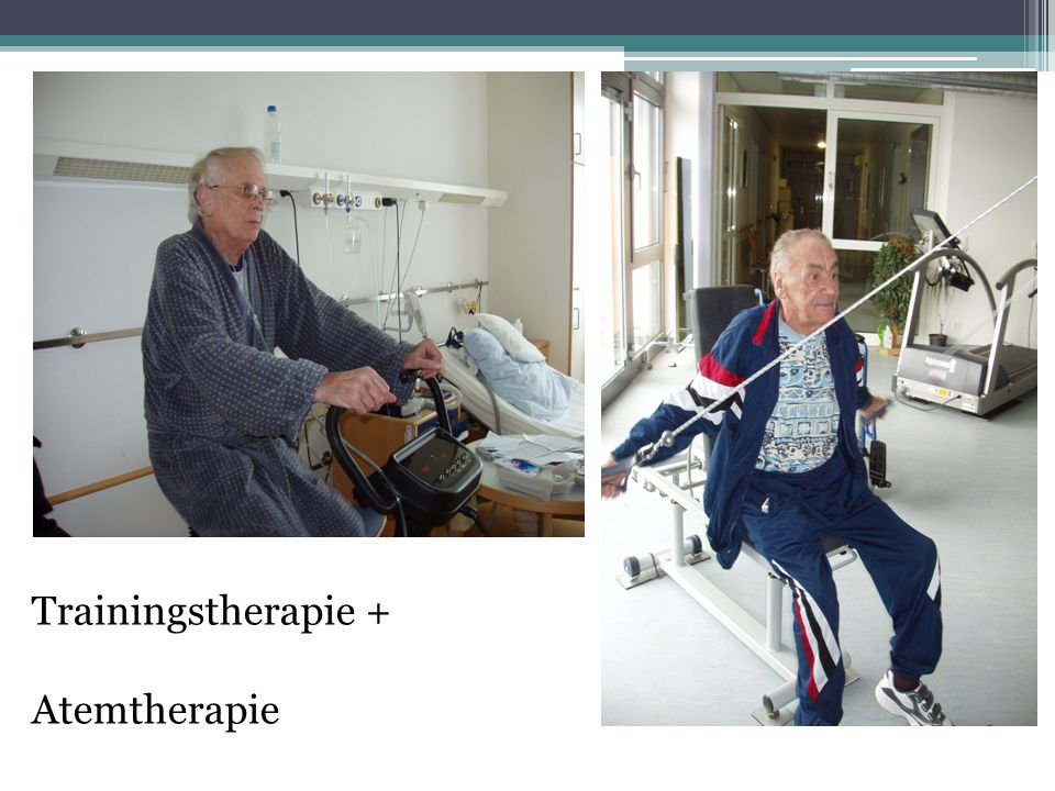 Trainingstherapie + Atemtherapie