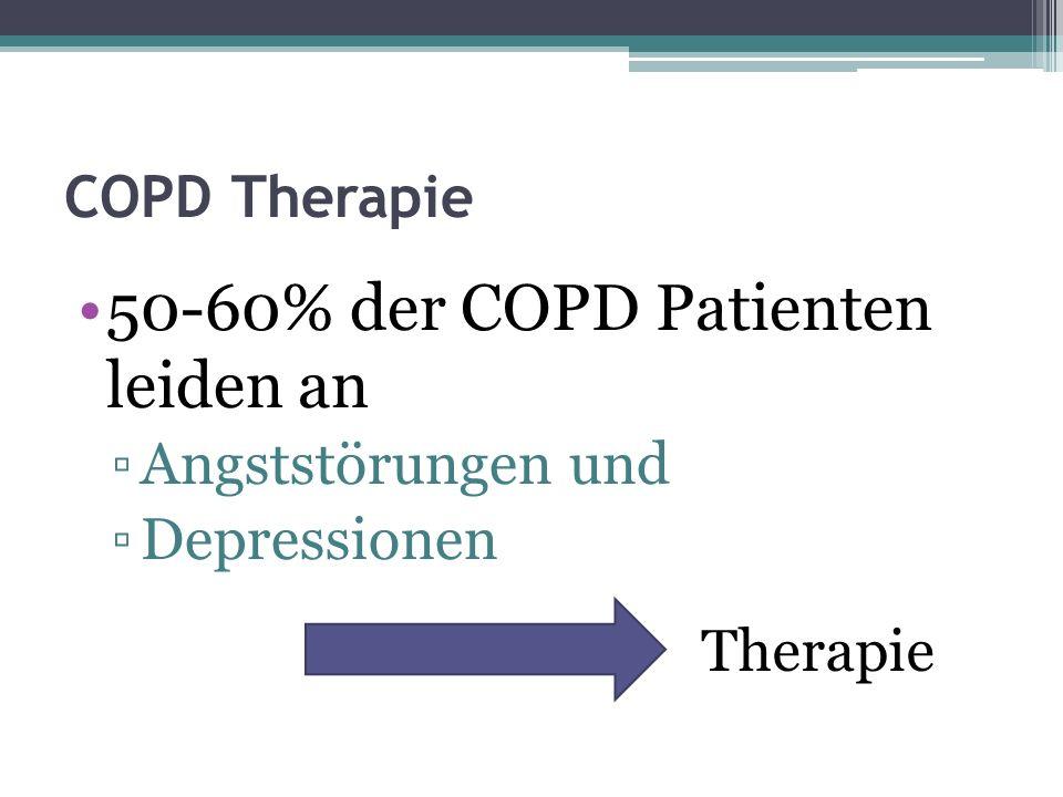 COPD – Therapie Kardiovaskuläre Komorbiditäten Koronare Herzerkrankung Herzinsuffizienz Therapie
