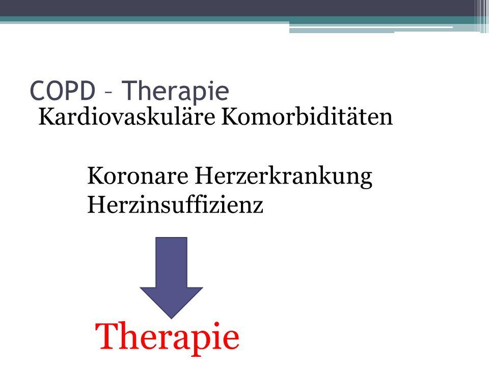 Beschwerden bei COPD Atemnot unter Belastung Husten mit Auswurf Thorakale Schmerzen Vor allem morgendliche Beschwerden Rezidivierende Unterschenkelödeme Müdigkeit