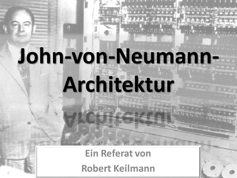Ein Referat von Robert Keilmann
