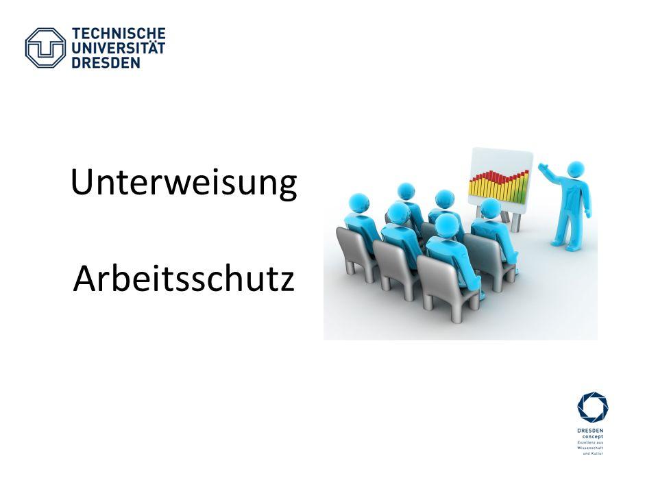 Homepage des BfAs: www.tu-dresden/bfas.de -Informationsmaterial -Formulare -Regelwerke zum Arbeitsschutz -Ansprechpartner -…