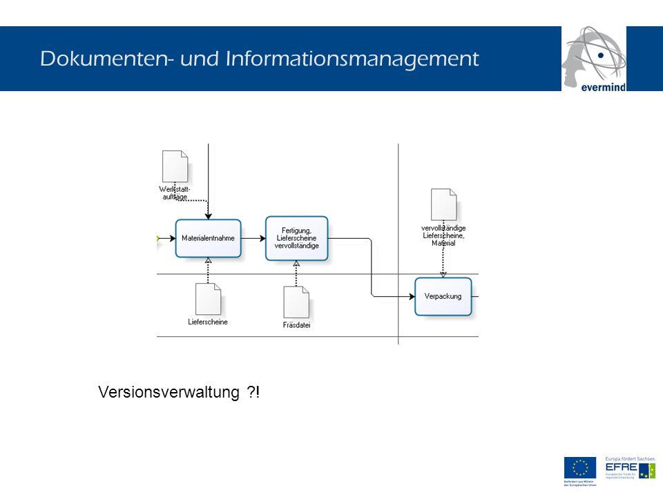Dokumenten- und Informationsmanagement Versionsverwaltung ?!