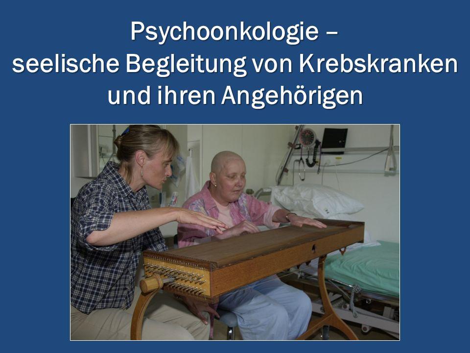 Psychoonkologie – seelische Begleitung von Krebskranken und ihren Angehörigen
