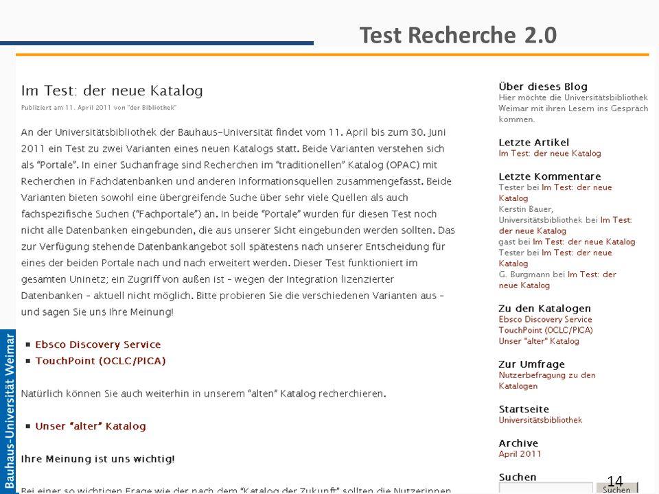 Test Recherche 2.0 14