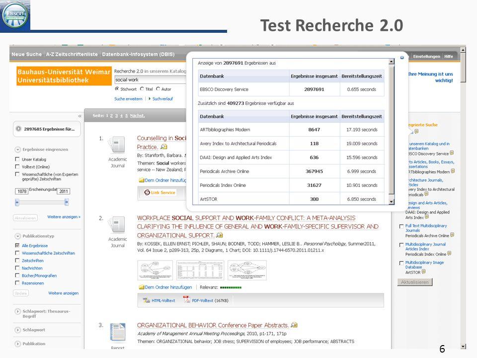 Test Recherche 2.0 6