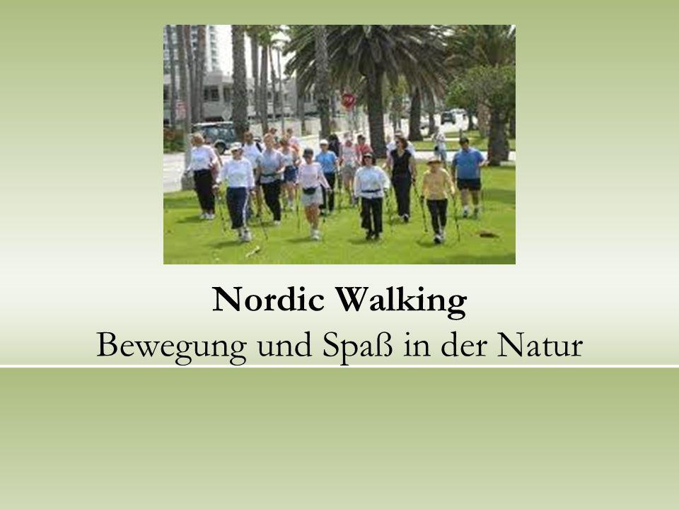 Nordic Walking Bewegung und Spaß in der Natur