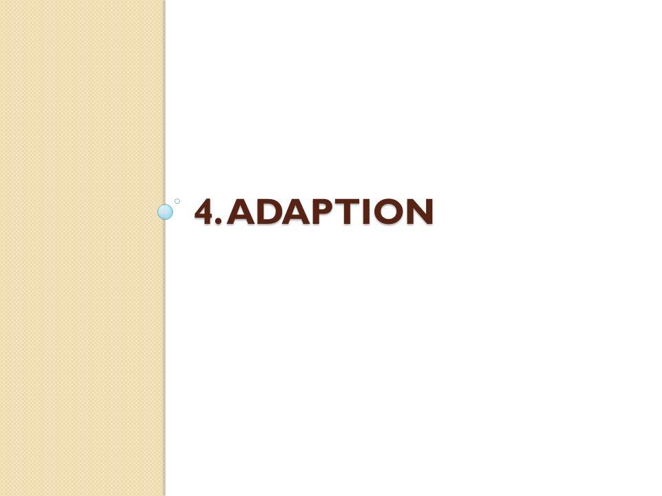 4. ADAPTION