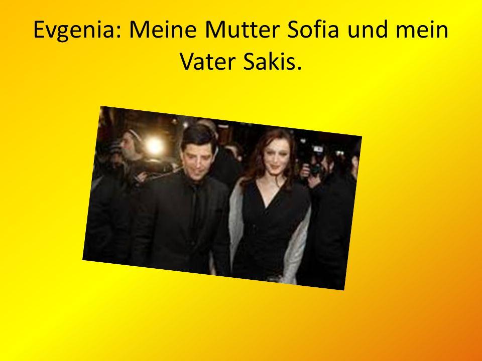 Evgenia: Meine Mutter Sofia und mein Vater Sakis.