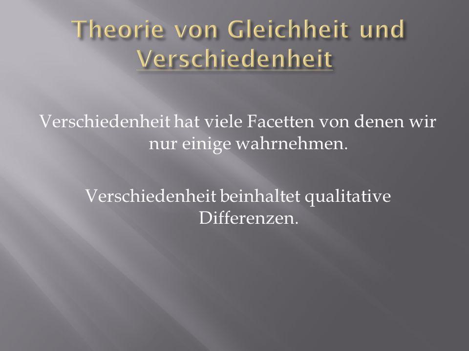 Monismus (Einheitslehre) versucht Hierarchien zu begründen.