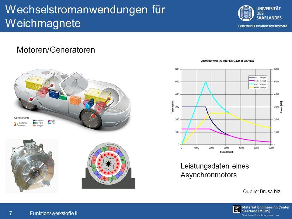 Funktionswerkstoffe II8 Lehrstuhl Funktionswerkstoffe Hochreines Eisen