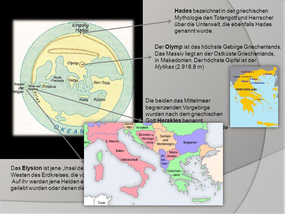 Hades bezeichnet in der griechischen Mythologie den Totengott und Herrscher über die Unterwelt, die ebenfalls Hades genannt wurde.