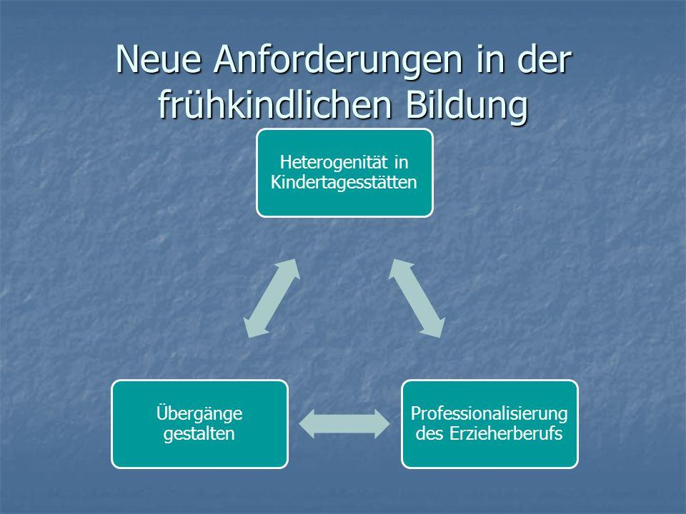 Heterogenität in Kindertagesstätten Unterschiedlichkeit von Lebenslagen SozialstatusEthnizitätAlter der KinderFamilienstruktur