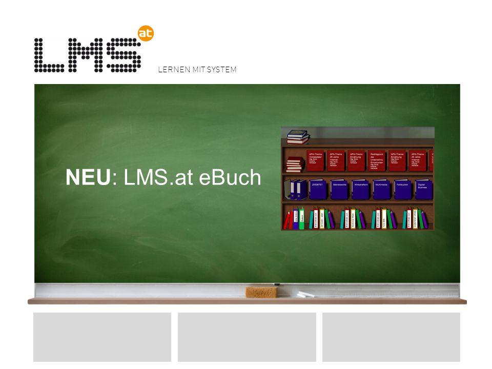 LERNEN MIT SYSTEM NEU: LMS.at eBuch 9