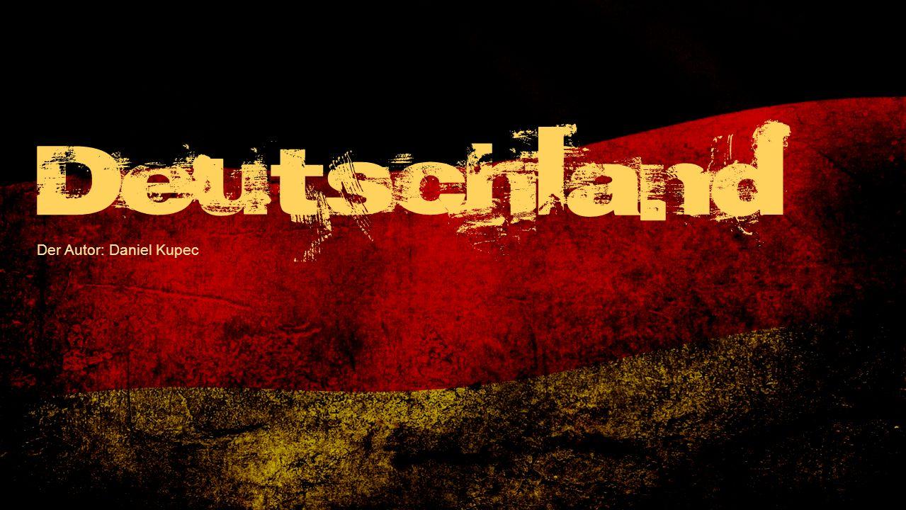 Der Autor: Daniel Kupec Deutschland