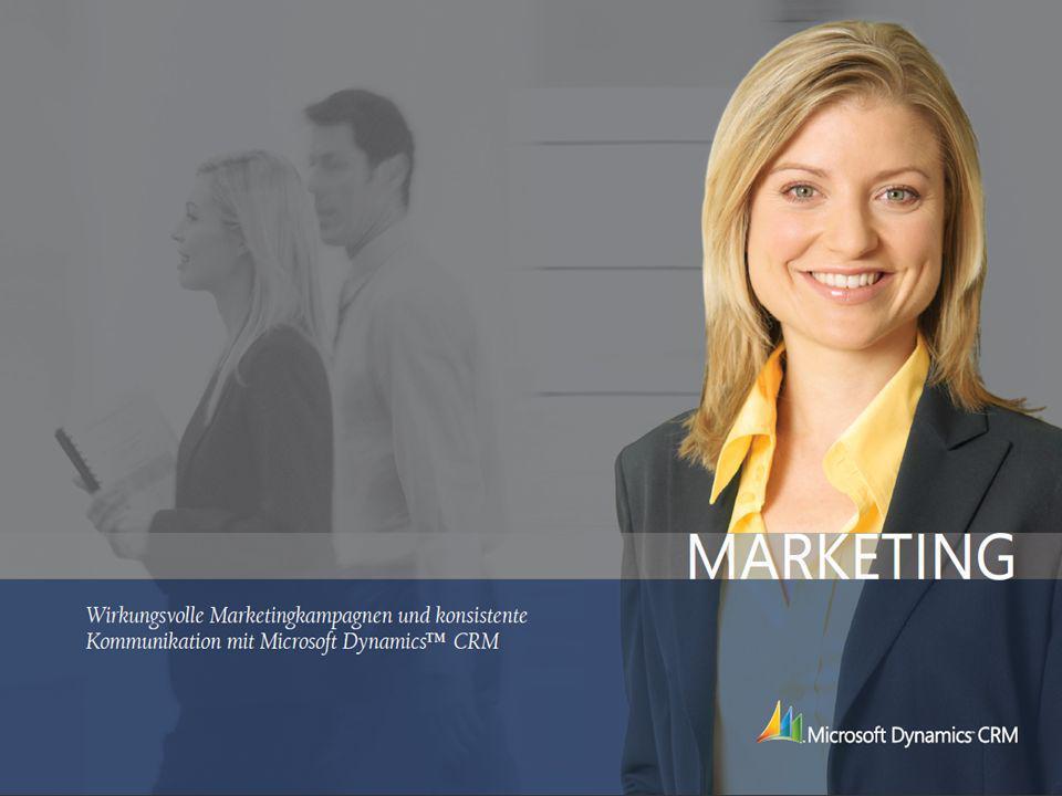 Wie Sie Ihre Kunden optimal ansprechen: Marketing mit Microsoft Dynamics CRM 6 Marketing ist weit mehr als Werbung für Unternehmen und Produkte.