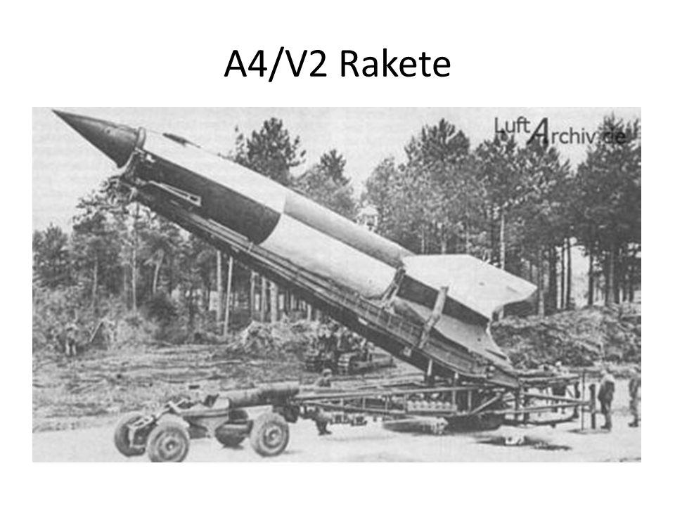 A4/V2 Rakete