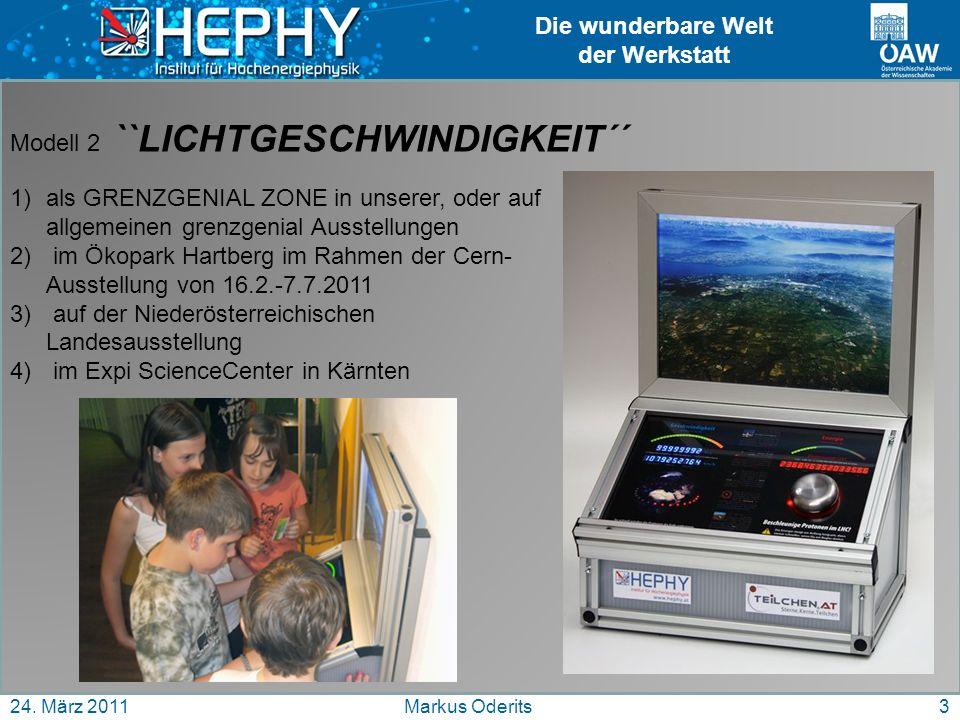 Die wunderbare Welt der Werkstatt 3Markus Oderits24.