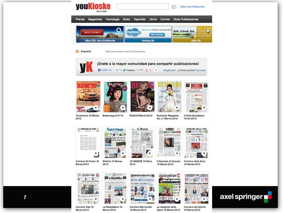 18 Nachtrag: Bei diesem Angebot handelt es sich um eine Website der Axel Springer AG mit voll lizensierten Texten und Fotos.