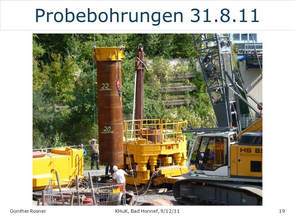 Probebohrungen 31.8.11 Günther RosnerKHuK, Bad Honnef, 9/12/1119