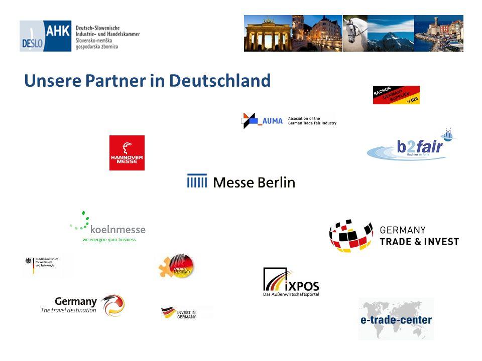 Unsere Partner in Deutschland
