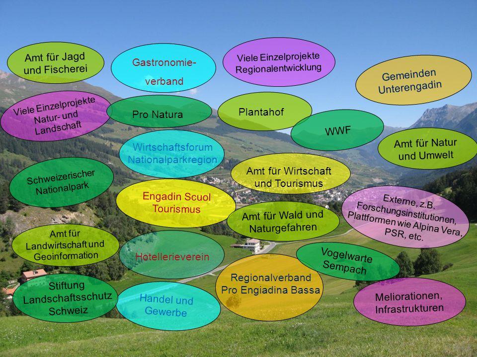 Alpen Woche 2012, Val Poschiavo Fundaziun Pro Terra Engiadina Amt für Natur und Umwelt Gemeinden Unterengadin Engadin Scuol Tourismus Regionalverband