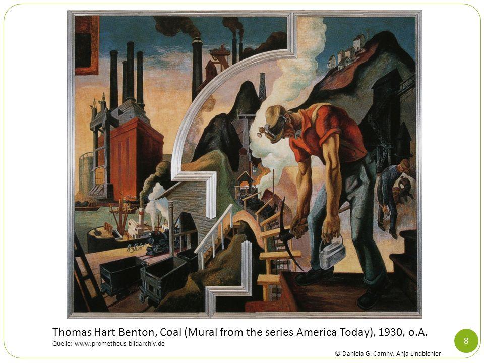 8 Thomas Hart Benton, Coal (Mural from the series America Today), 1930, o.A. Quelle: www.prometheus-bildarchiv.de © Daniela G. Camhy, Anja Lindbichler