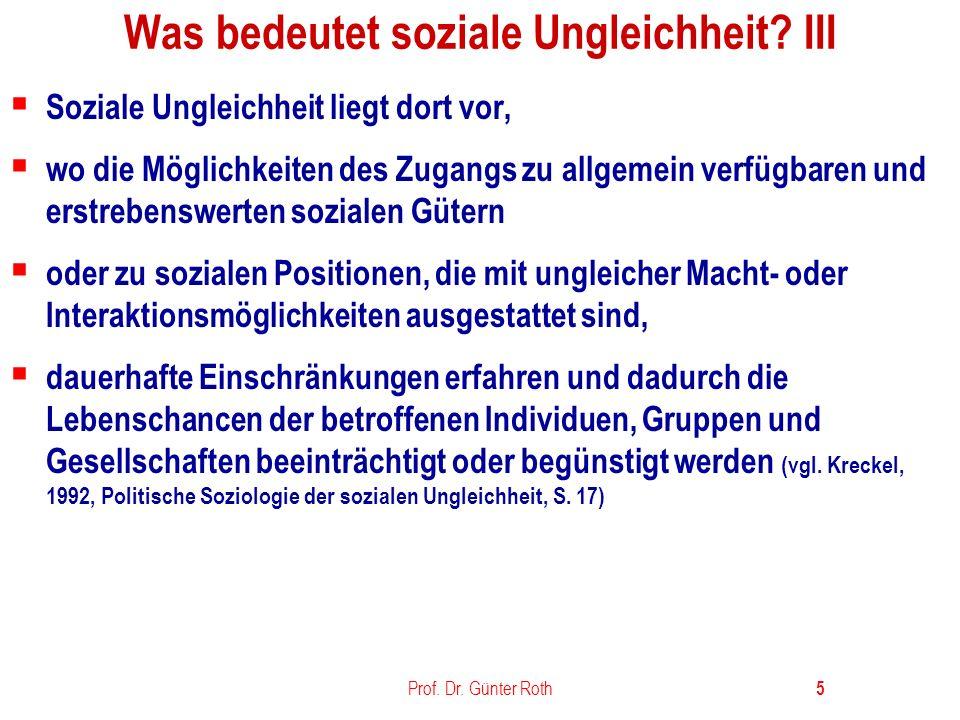 Prof.Dr. Günter Roth 16 Formen, Ursachen u.