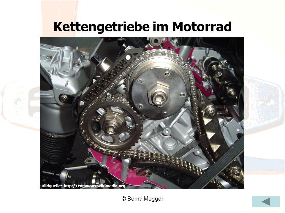 © Bernd Megger Bildquelle: http://commons.wikimedia.org Kettengetriebe im Motorrad