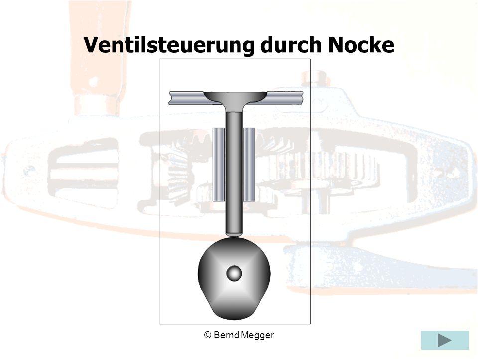 © Bernd Megger Ventilsteuerung durch Nocke
