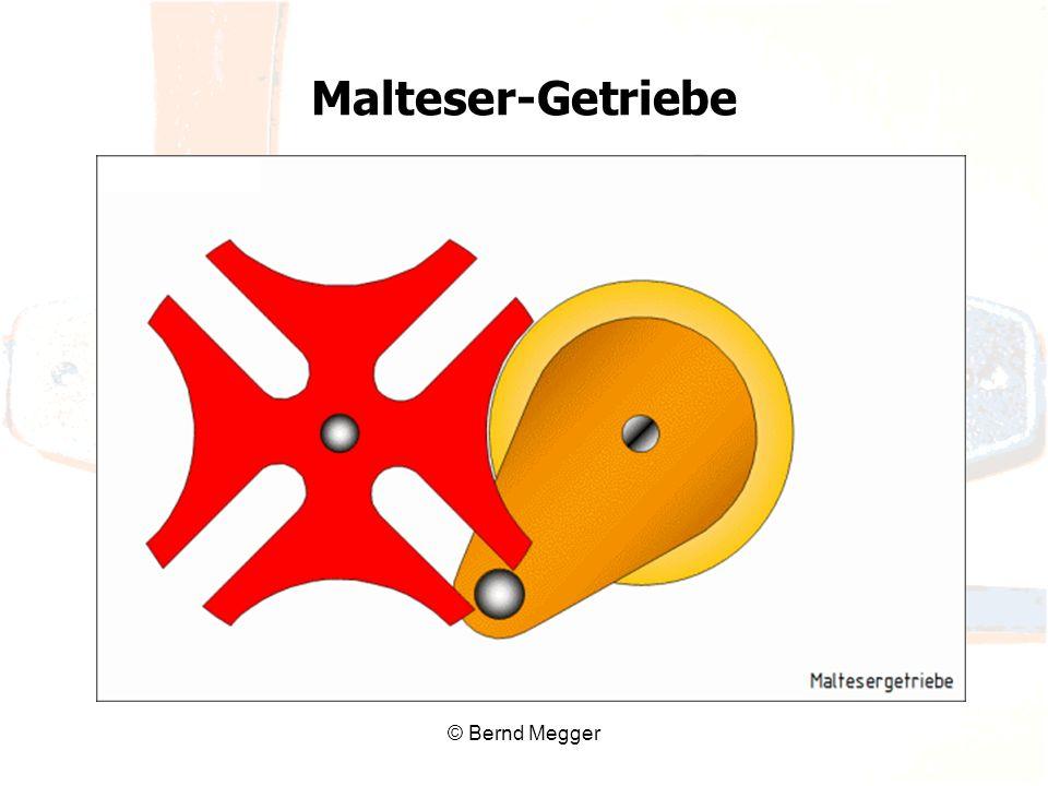 © Bernd Megger Malteser-Getriebe