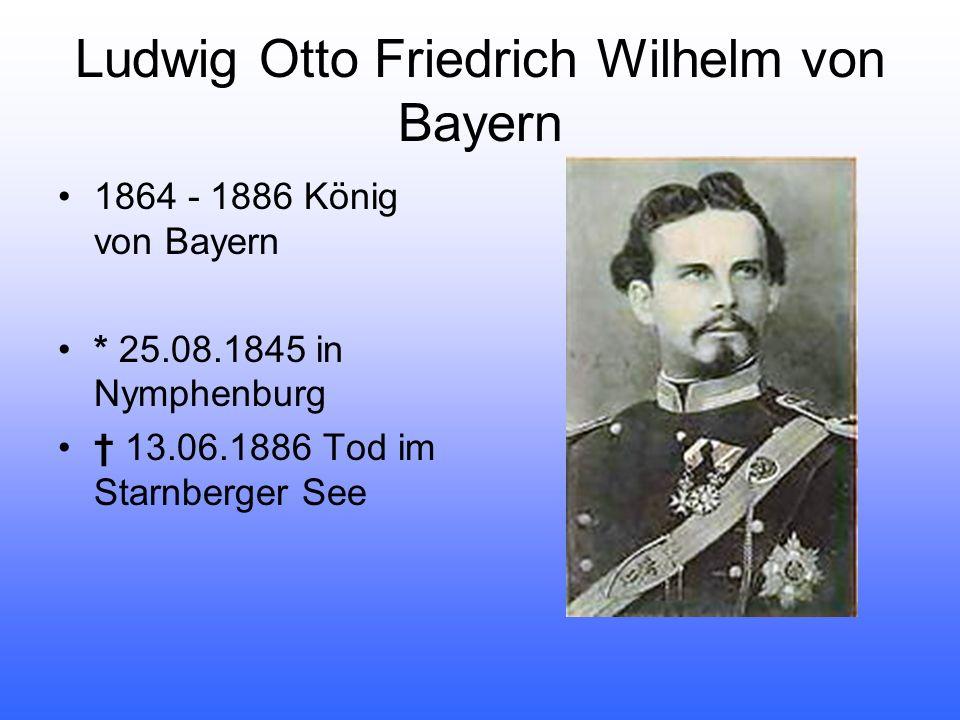 Vater: Kronprinz Maximilian, der spätere König Maximilian II.