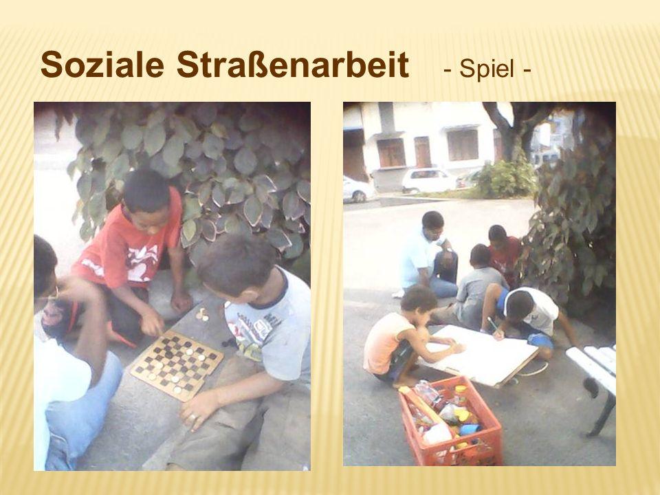 Soziale Straßenarbeit - Spiel -