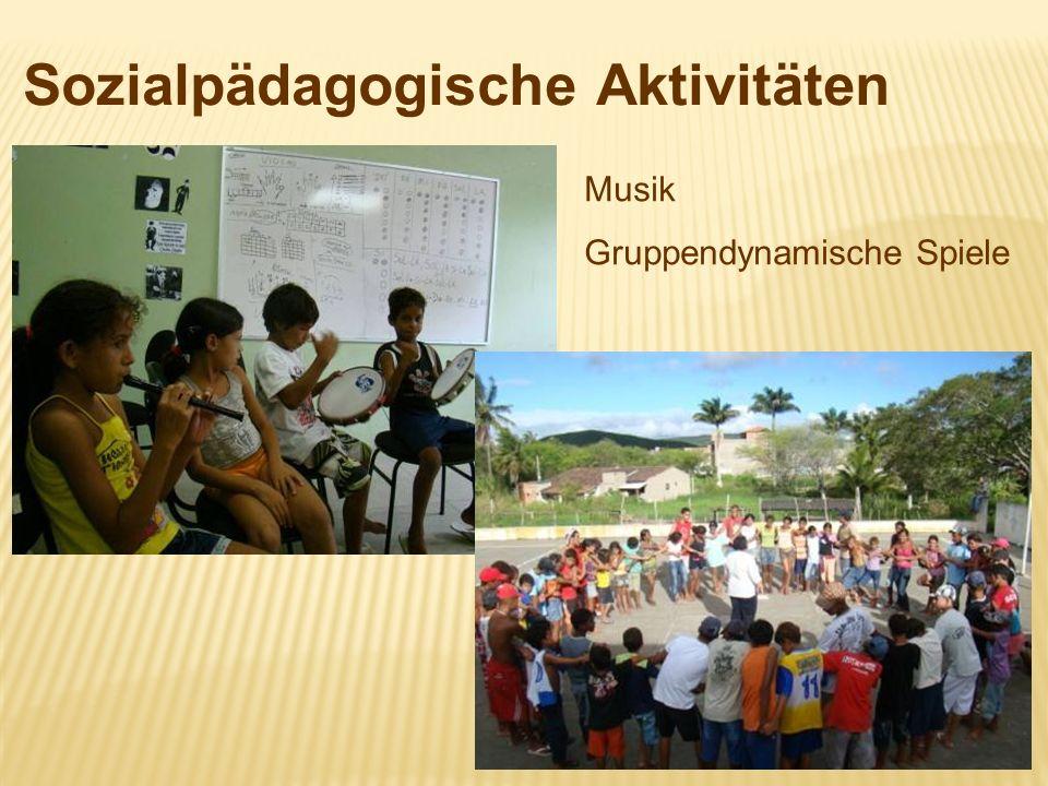Sozialpädagogische Aktivitäten Musik Gruppendynamische Spiele