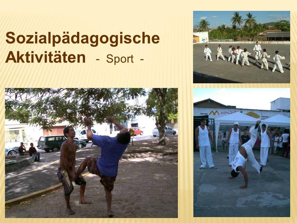 Sozialpädagogische Aktivitäten - Sport -