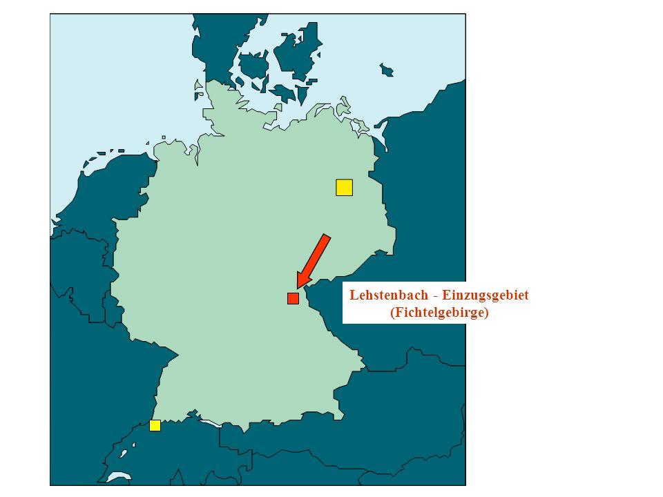 Lehstenbach - Einzugsgebiet (Fichtelgebirge)